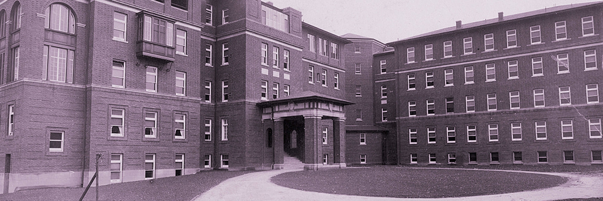 Old time photo of Magee Women's Hospital