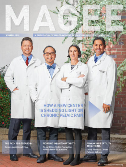 Cover of Magee Magazine Winter 2019