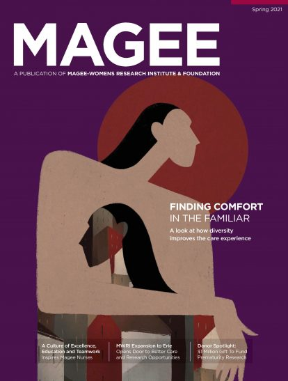 Cover of Magee Magazine Spring 2021