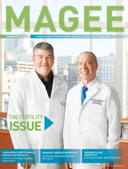 Cover of Magee Magazine Spring 2017