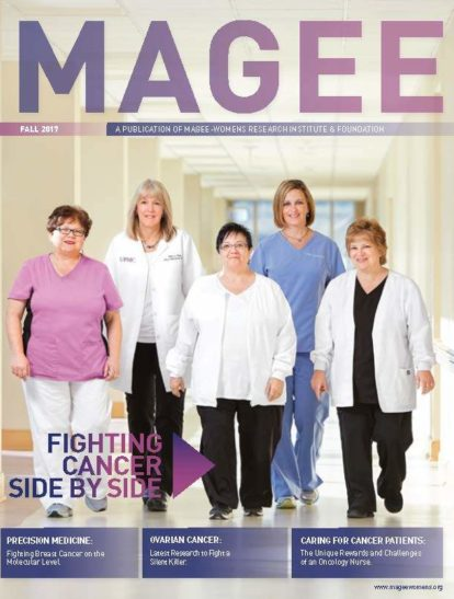 Cover of Magee Magazine Fall 2017