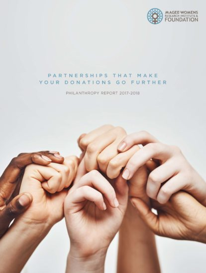 Cover of Philanthropy Report 2018