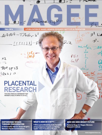 Cover of Magee Magazine Fall 2016