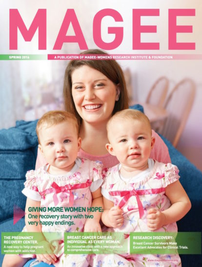 Cover of Magee Magazine Spring 2016