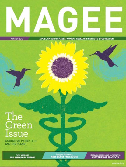Cover of Magee Magazine Winter 2013
