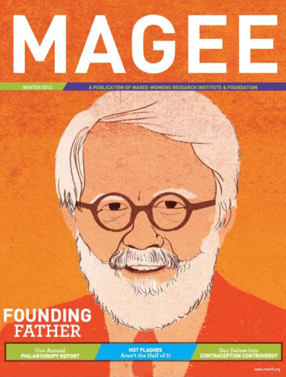 Cover of Magee Magazine Winter 2012