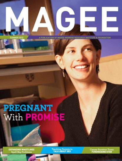Cover of Magee Magazine Summer 2012