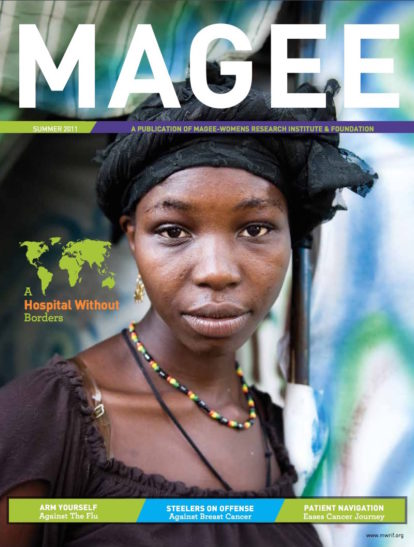 Cover of Magee Magazine Summer 2011