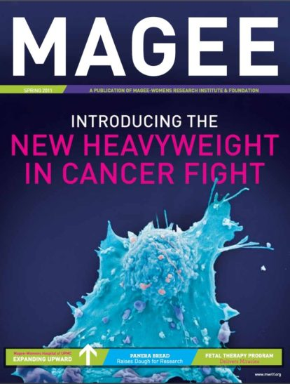 Cover of Magee Magazine Spring 2011