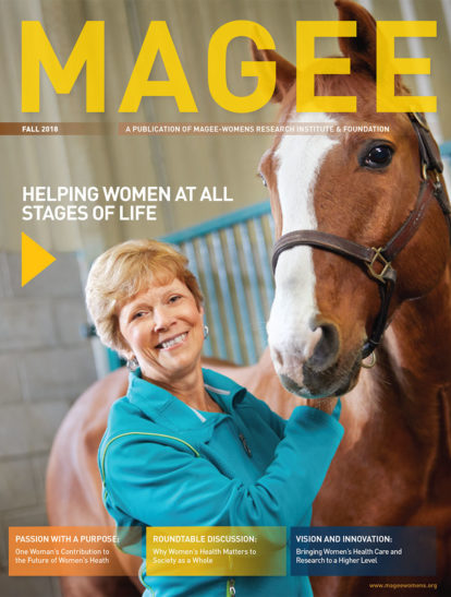 Cover of Magee Magazine Fall 2018